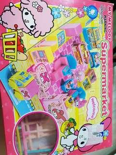 My melody suoermarket toy