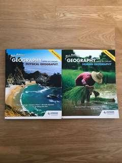 Upper secondary pure geography textbooks