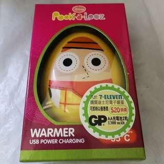迪士尼 Pook-A-Looz 胡迪USB暖蛋 Woody Hand Warmer