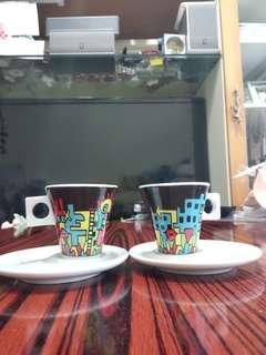 Nescafe Dolce Gusto 杯+碟 2 套   Nescafe Dolce Gusto Cup and Saucer 2 set