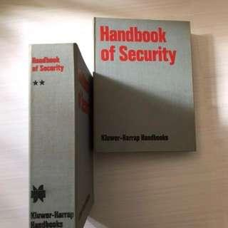 Handbook of Security