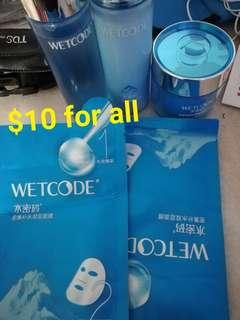 Wetcode set