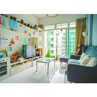 For Sale : 2 Bedroom The Cascadia Bukit Timah Freehold