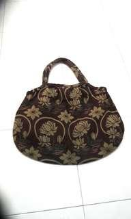 Grandma style canvas bag