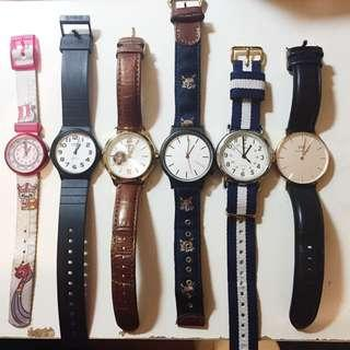 Selling watch collection