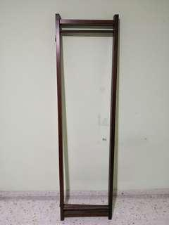 Wooden foldable screen, 3 panel
