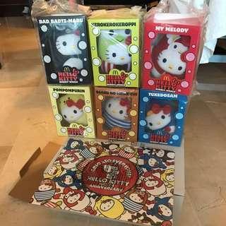 Hello Kitty 40th anniversary full set