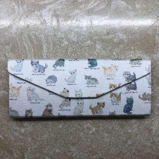 包郵 貓咪眼鏡盒 Cat pattern Glasses Case 🐱