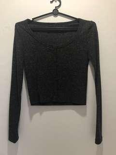 Knitted cropped