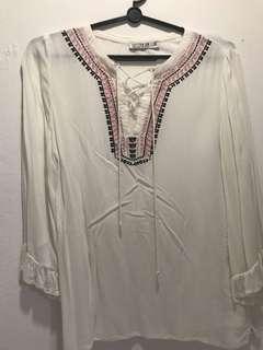 Cotton On drawstring top