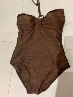 Swimsuit brown ocean club