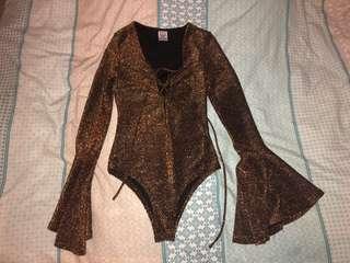 Flare bodysuit