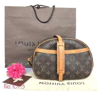 AUTHENTIC LOUIS VUITTON MONOGRAM BLOIS SHOULDER BAG