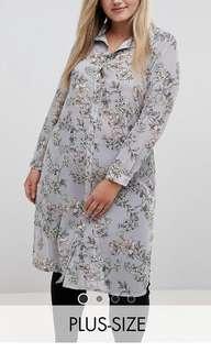 🚚 New Look Plus Size Longline Blouse