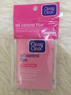 Clean & clear - oil control firm