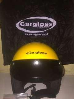 Helm cargloss yellow XL