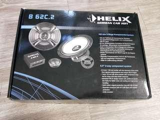 """Helix B 62C.2 6.5"""" 2-way component speaker"""