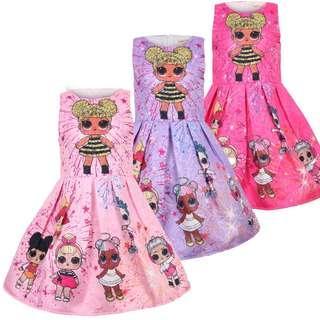 (Pre-order) LOL Princess Dress (3 Colours) #604