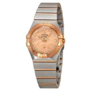 Omega constellation Mother Of Pearl 27 mm