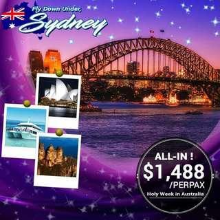 Holy week in Australia