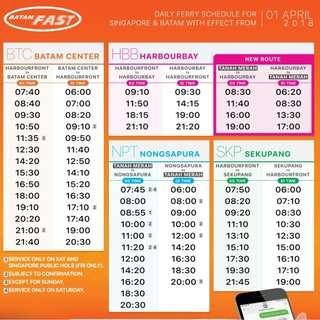 Batamfast Ferry Ticket ( All-in !! )