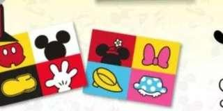Mickey mouse 90th anniversary post card with stamps set #valentine gift #cny888