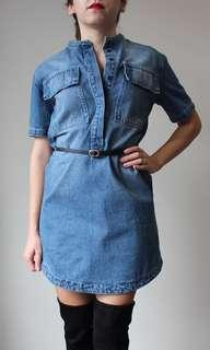 Baggy denim dress #BlackFriday