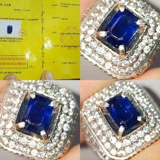 Jual murah Natural Blue Royal Sappire Srilanka
