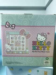 全新 Hello Kitty 成長相架 BB相架