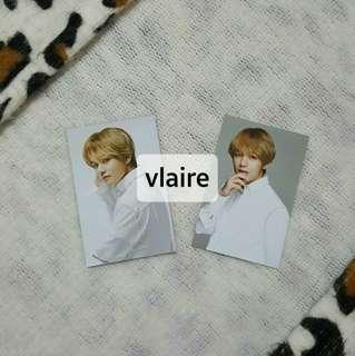 VT x BTS Think Your Teeth Photocards (V/Taehyung)