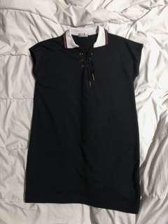 shoelace dress