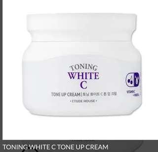 Etude toning white C tone up cream 60ml