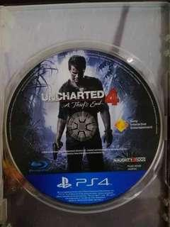 PS4 Games (Uncharted 4 & Resident Evil 2)