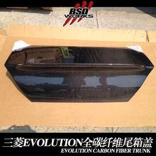 DarwinPro 2003-2007 EVO 7-9 DLK carbon fiber trunk