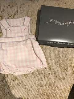Brand new chateau de sable baby romper