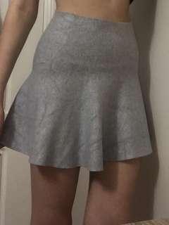 Grey Soft Skirt