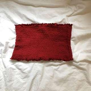 CLEARANCE brandy melville red cleo top