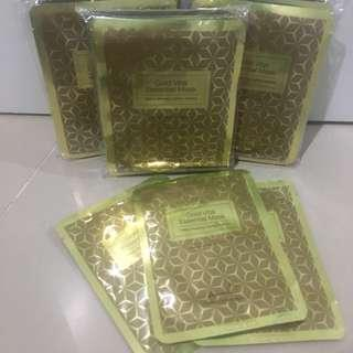 #carousellxzoukout Gold Vital Essential Mask