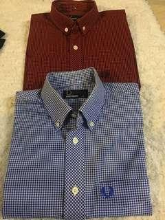 Fred perry shirts xs