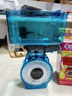 Compact Kitchen Scale maximum 1 Kg blue colour