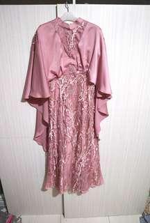 Pink glamour dress