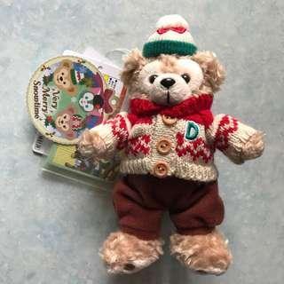 日本東京Disney SEA冬日Duffy掛飾