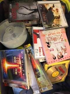 舊cd dvd