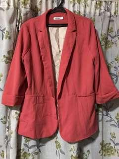 Pink Blazer with flaws