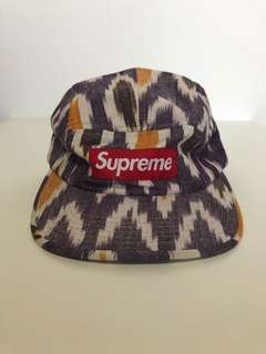 4e461e10 Supreme Ikat Camp Cap, Men's Fashion, Accessories, Caps & Hats on Carousell