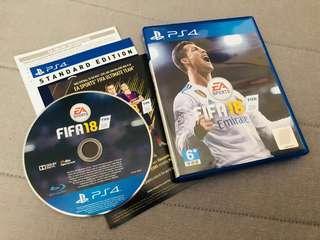 PS4 Fifa18 Bluray Standard Edition