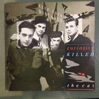 Lp Curiosity Killed The Cat (Keep Your Distance) vinyl record