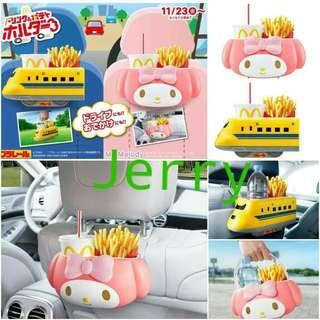 日本麥當勞和Sanrio剛推出的收納盒/野餐盒