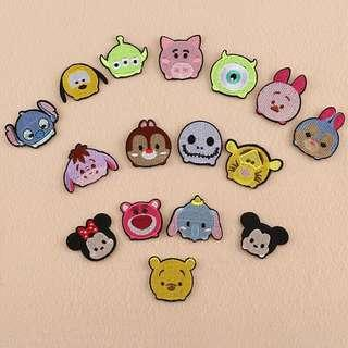 Tsum Tsum Cartoon Embroidery Sew On Iron On Patch Badge Bag Clothes Fabric Applique