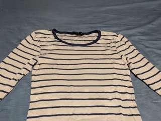 🚚 Dorothy Perkins Long sleeve striped top